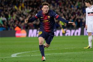 Gdyby nie słupki, Messi miałby już ponad 50 goli
