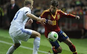 Jordi Alba ucierpiał w meczu z Finlandią