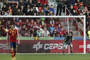 Valdés pierwszym bramkarzem FCB w oficjalnym meczu Hiszpanii od Zubiego