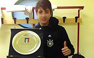 Georgis Spanoudakis triumfuje z reprezentacją U-15