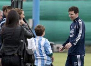 Leo spotkał się z argentyńskimi dziećmi
