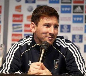 Messi: Nigdy nie byłem smutny