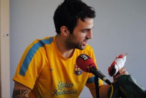 Cesc: Chciałbym finał Barcelona – Real