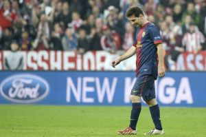 """Messi przebiegł 3 kilometry mniej od Robbena i Ribéry""""ego"""