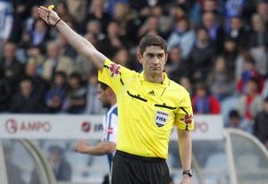 Znany arbiter spotkania Barça-Levante