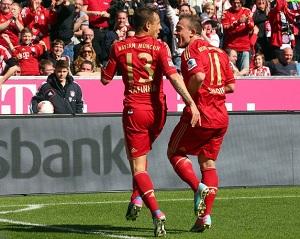 Bayern gromi FC Nürnberg