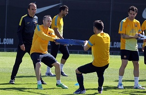 Pierwsza drużyna wraca do treningów
