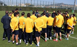 Zespół wraca do treningu