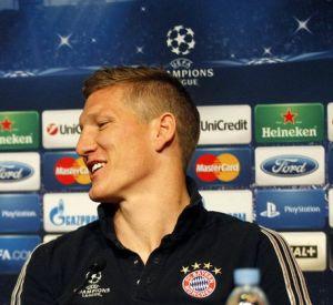 Konferencja prasowa: Bastian Schweinsteiger