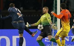 Pechowy mecz Valdésa