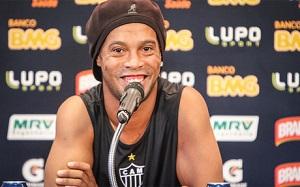 Ronaldinho porównuje Atlético Mineiro do Barçy