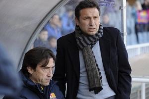 Eusebio pozostanie trenerem Barçy B