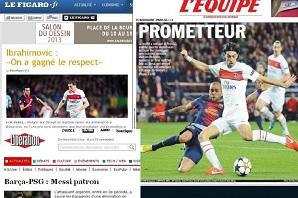 Francuska prasa: PSG przez 20 minut było w raju