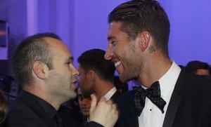 Sergio Ramos ma swoich fanów wśród zawodników Barçy