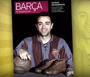Xavi dla BARÇA Magazine