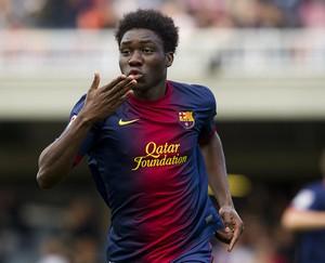 Dongou: Pracuję, by grać na Camp Nou