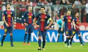 Reakcje zawodników na straty kolejnych bramek.