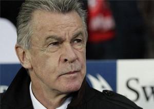 Hitzfeld nie daje szans Barcelonie na awans do finału LM.