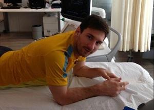 Messi nie zagra z Mallorcą