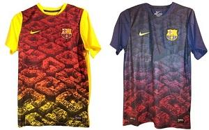 Barça będzie miała nowe koszulki na rozgrzewki