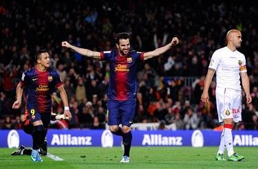 Show Cesca i Alexisa: FC Barcelona 5-0 RCD Mallorca