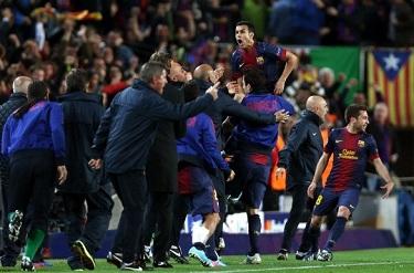 Pedro daje półfinał: FC Barcelona 1-1 PSG