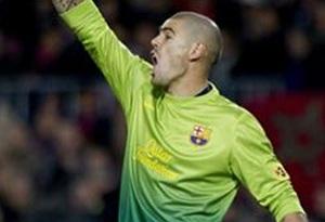 Víctor Valdés wraca po czterech spotkaniach