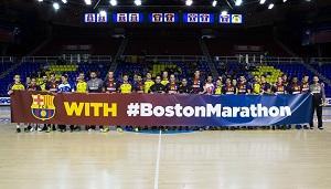 Piłkarze ręczni Barcelony solidarni z Bostonem