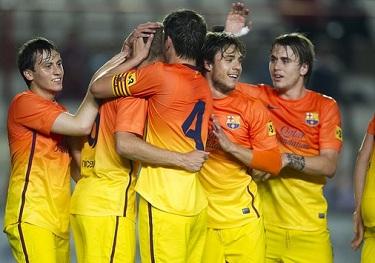 W finale z Espanyolem: Gimnàstic Tarragona 0-1 FC Barcelona