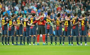 Camp Nou pamięta o Bostonie i Sichuan