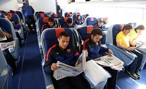 FC Barcelona jest już w Monachium