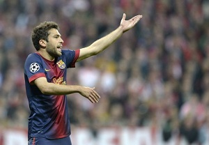 Jordi Alba nie zagra w rewanżu
