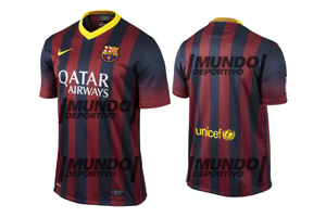 Mundo Deportivo: Oto koszulki Barçy 2013/2014