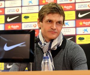 Tito Vilanova ponownie na konferencji prasowej