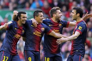 Barça może zostać mistrzem za tydzień na Camp Nou