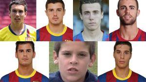 Siedmiu byłych graczy Barçy w Saragossie