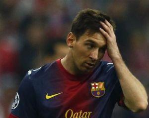 """Leo Messi nie był w stanie zapobiec """"upadkowi"""" Barçy"""