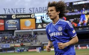David Luiz w barwach Chelsea
