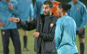 Ronaldinho: Nie miałem konfliktu z Guardiolą