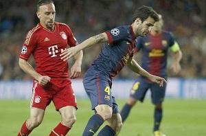 Cesc przewodził z Bayernem