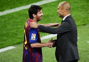 Messi: Nie rozmawiam z Guardiolą