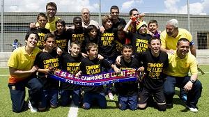 Alevín C czwartym mistrzem z FC Barcelony