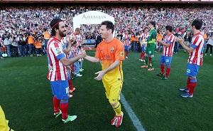 Szpaler Atlético Madryt
