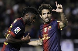 Arsenal zarobił 3,5 miliona dzięki Barcelonie