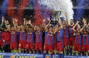 Barça najlepszym klubem XXI wieku