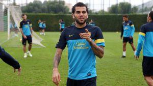 Adriano i Alves powrócili do treningów