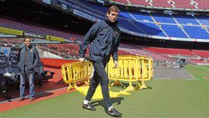 Przygotowania do meczu z Espanyolem