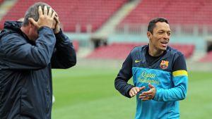 Alves i Adriano z zielonym światłem