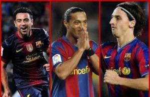 Xavi, Ronaldinho i Ibra celem transferowym jednego z klubów MLS