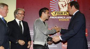 Xavi uhonorowany nagrodą Fair Play